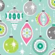 Dashwood Studio Christmas Dreams - 4059 - Christmas Baubles - CHDR 1111 - Cotton Fabric